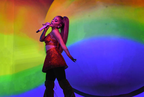 "GBR: Ariana Grande ""Sweetener World Tour"" - London"