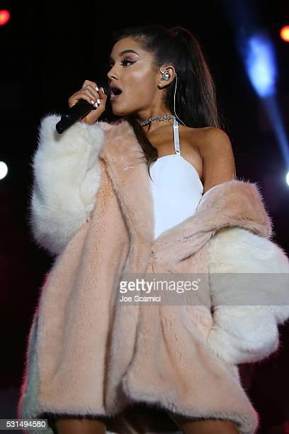 Ariana Grande performs onstage at 1027 KIIS FM's Wango Tango 2016 at StubHub Center on May 14 2016 in Carson California