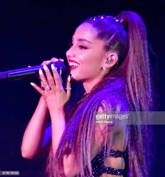 Ariana Grande performs onstage during the 2018 iHeartRadio Wango Tango By ATT on June 2 2018 in Los Angeles California