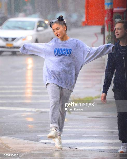 Ariana Grande seen on September 18 2018 in New York City