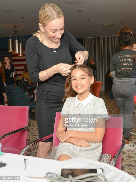 Ariana Greenblat gets pampered at Girl Guild Debuts with a Strong Mission and Support of Young Influencers at Palihouse West Hollywood on November 19...