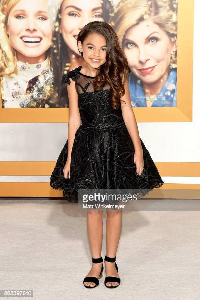 Ariana Greenblatt attends the premiere of STX Entertainment's 'A Bad Moms Christmas' at Regency Village Theatre on October 30 2017 in Westwood...