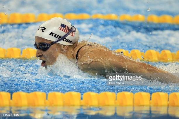 Ariana Kukors of the United States competes in the Women's 200m Individual Medley heats during Day Nine of the 14th FINA World Championships at the...