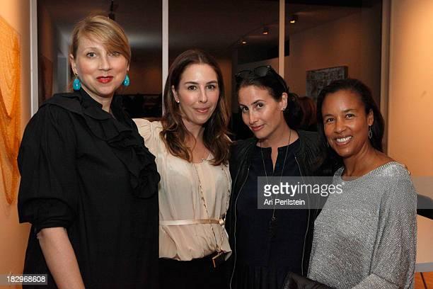 Ariana Lambert Smeraldo Karyn Lovegrove Director LAXART Lauri Firstenberg and Alison Swan attend Los Angeles Confidential And Merrrill Lynch Wealth...