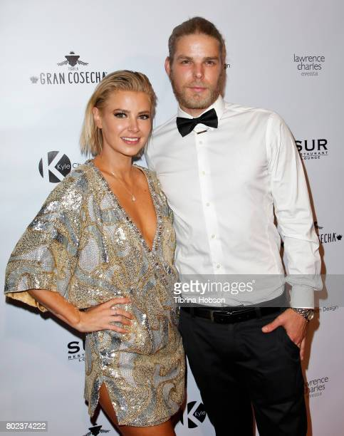 Ariana Madix and Jeremy Madix attend Kyle Chan's 3rd annual #LOVECAMPAIGN Party at SUR Lounge on June 27, 2017 in Los Angeles, California.