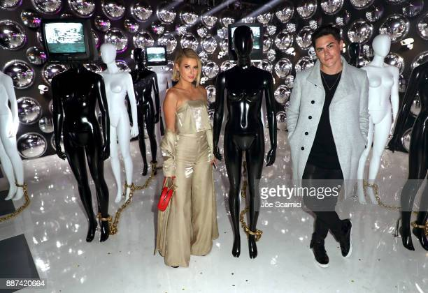 Ariana Madix and Tom Sandoval attend Refinery29 29Rooms Los Angeles Turn It Into Art Opening Night Party at ROW DTLA on December 6 2017 in Los...
