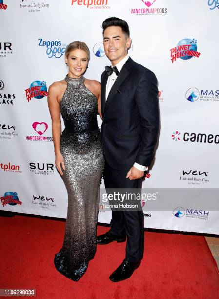 Ariana Madix and Tom Sandoval attend the 4th annual Vanderpump Dog Foundation Gala at Taglyan Cultural Complex on November 21, 2019 in Hollywood,...