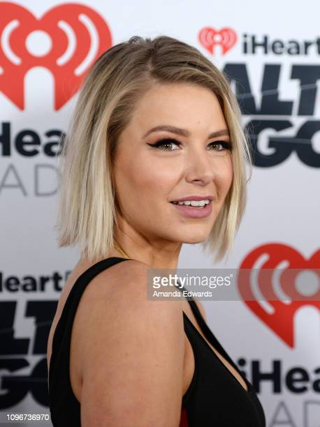 Ariana Madix arrives at the 2019 iHeartRadio ALTer Ego concert at The Forum on January 19 2019 in Inglewood California