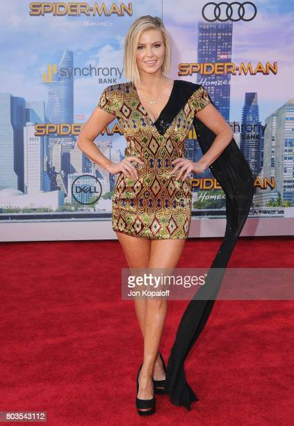 Ariana Madix arrives at the Los Angeles Premiere 'SpiderMan Homecoming' at TCL Chinese Theatre on June 28 2017 in Hollywood California