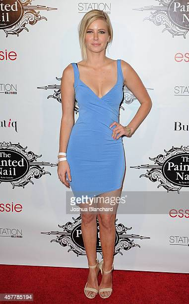 Ariana Madix arrives at The Painted Nail Flagship Store Launch at the W Hollywood on October 23 2014 in Hollywood California