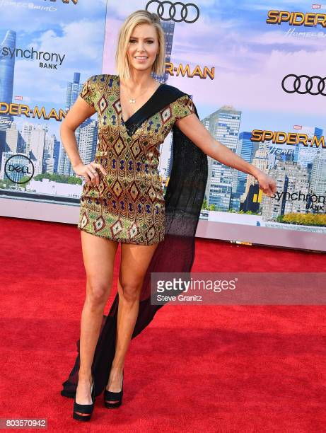 Ariana Madix arrives at the Premiere Of Columbia Pictures' 'SpiderMan Homecoming' at TCL Chinese Theatre on June 28 2017 in Hollywood California
