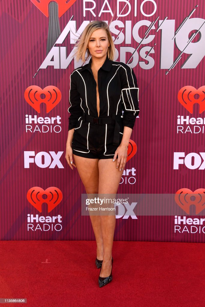 Ariana Madix attends the 2019 iHeartRadio Music Awards which