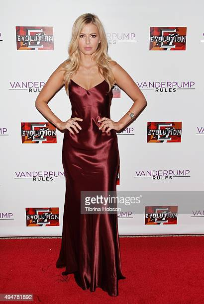 Ariana Madix attends the 'Vanderpump Rules' premiere party at The Church Key on October 28 2015 in West Hollywood California
