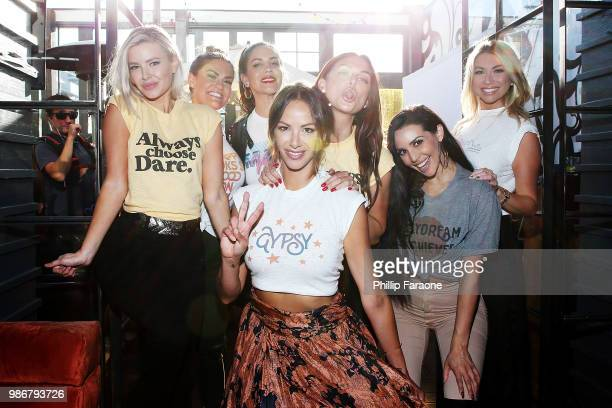 Ariana Madix Brittany Cartwright Kate Maloney Kristen Doute Lala Kent Scheana Marie and Stassi Schroeder attend Kristen Doute's James Mae Launch...