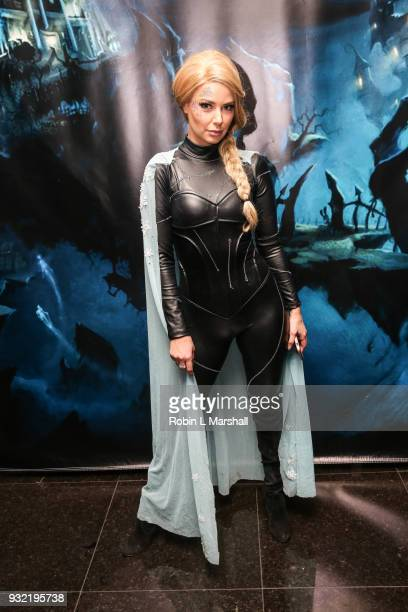 Ariana Madix of 'Vanderpump Rules' attends Kyle Chan's Dark Disney Birthday Party at Sofitel Hotel on March 14 2018 in Los Angeles California
