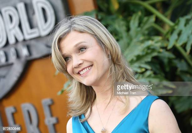 Ariana Richards arrives to the Los Angeles premiere of Universal Pictures and Amblin Entertainment's 'Jurassic World Fallen Kingdom' held at Walt...