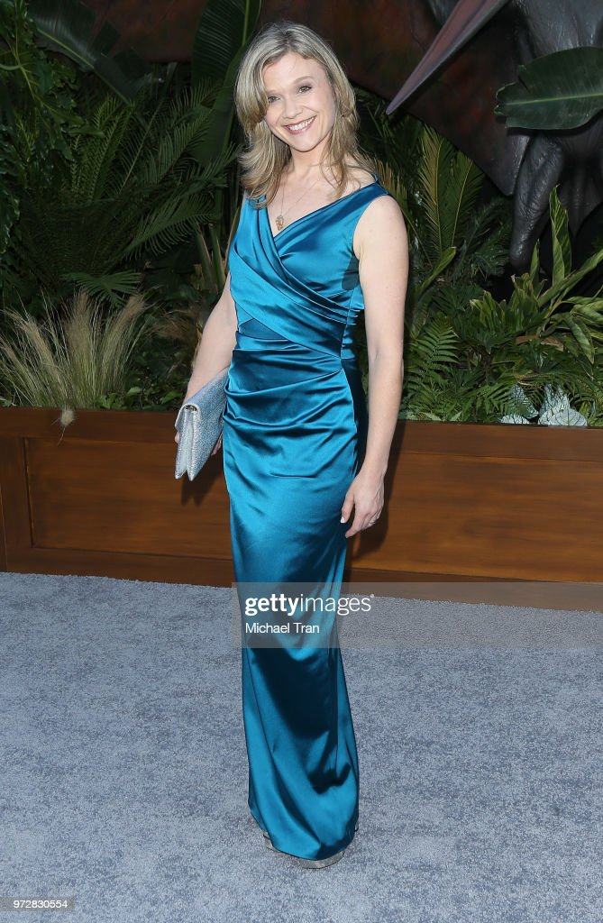 Ariana Richards arrives to the Los Angeles premiere of Universal Pictures and Amblin Entertainment's 'Jurassic World: Fallen Kingdom' held at Walt Disney Concert Hall on June 12, 2018 in Los Angeles, California.