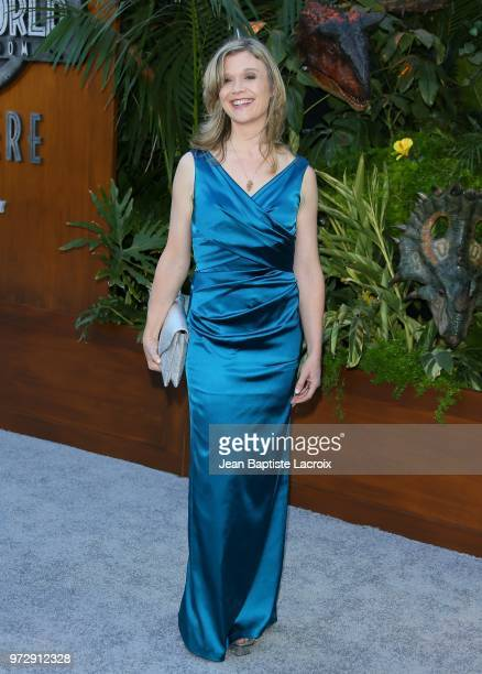 Ariana Richards attends the premiere of Universal Pictures and Amblin Entertainment's Jurassic World Fallen Kingdom on June 12 2018 in Los Angeles...