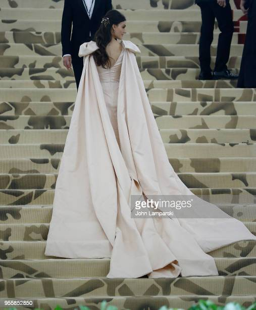 Ariana Rockefeller attends Heavenly Bodies Fashion The Catholic Imagination Costume Institute Gala at The Metropolitan Museum of Art on May 7 2018 in...