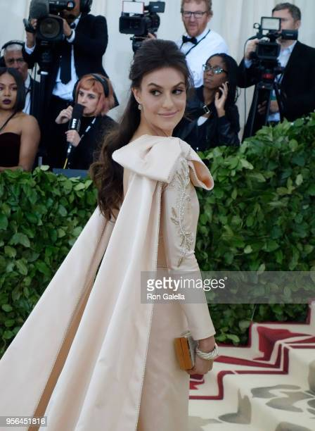 Ariana Rockefeller attends Heavenly Bodies Fashion The Catholic Imagination Costume Institute Gala on May 7 2018 at the Metropolitan Museum of Art in...