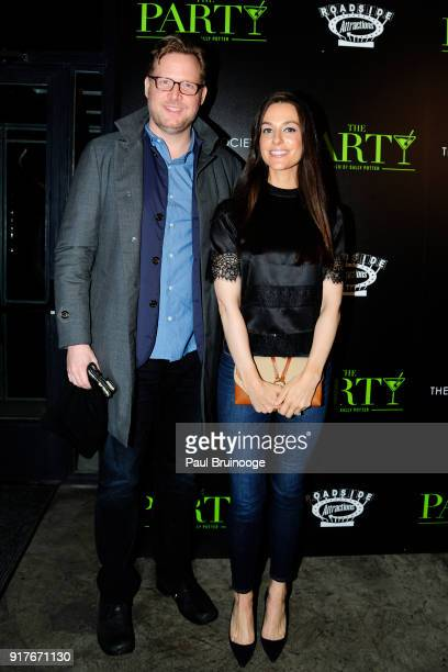 Ariana Rockefeller attends Roadside Attractions and Great Point Media with The Cinema Society host a screening of 'The Party' at Metrograph on...