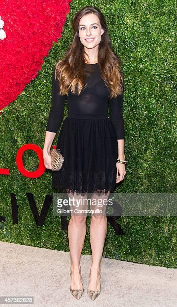 Ariana Rockefeller attends the 2014 God's Love We Deliver Golden Heart Awards at Spring Studios on October 16 2014 in New York City