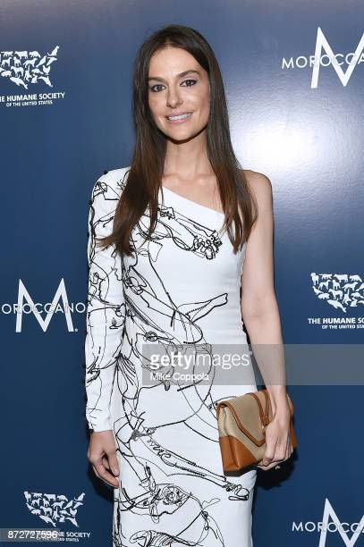 Ariana Rockefeller attends the 2017 Humane Society of the United States to the Rescue New York Gala at Cipriani 42nd Street on November 10 2017 in...