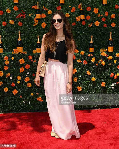 Ariana Rockefeller attends the 8th annual Veuve Clicquot Polo Classic at Liberty State Park on May 30 2015 in Jersey City New Jersey