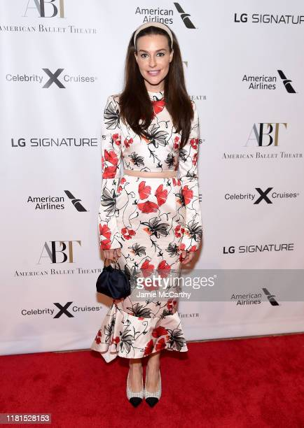 Ariana Rockefeller attends the American Ballet Theatre 2019 Fall Gala at David H Koch Theater at Lincoln Center on October 16 2019 in New York City