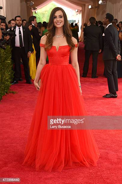 Ariana Rockefeller attends the 'China Through The Looking Glass' Costume Institute Benefit Gala at the Metropolitan Museum of Art on May 4 2015 in...