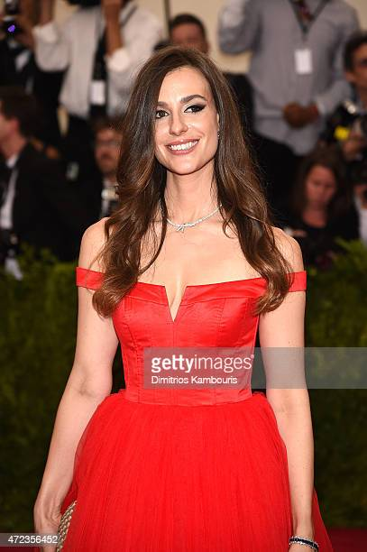 Ariana Rockefeller attends the China Through The Looking Glass Costume Institute Benefit Gala at the Metropolitan Museum of Art on May 4 2015 in New...