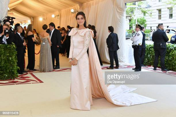 Ariana Rockefeller attends the Heavenly Bodies Fashion The Catholic Imagination Costume Institute Gala at The Metropolitan Museum of Art on May 7...