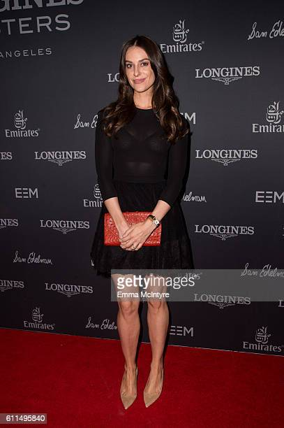 Ariana Rockefeller attends the Longines Masters Los Angeles at Long Beach Convention Center on September 29 2016 in Long Beach California