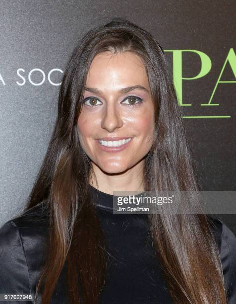 Ariana Rockefeller attends the screening of 'The Party' hosted by Roadside Attractions and Great Point Media with The Cinema Society at Metrograph on...