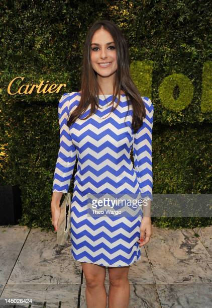 Ariana Rockefeller Bucklin attends the 2012 Party in the Garden benefit at the Museum of Modern Art on May 22 2012 in New York City