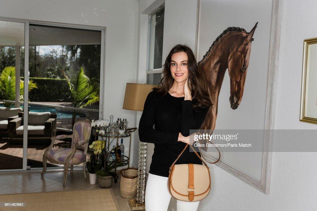 Ariana Rockefeller, Paris Match Issue 3597, April 25, 2018 : News Photo
