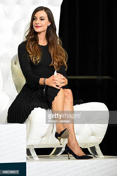 Ariana Rockefeller is seen during the Charity ProAM class at Longines Los Angeles Masters at Los Angeles Convention Center on September 27 2014 in...