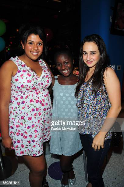 Ariana Thomas Vanessa Asare and Rachel Blankfein attend ASSOCIATION to BENEFIT CHILDREN hosts COCKTAILS IN CANDYLAND at Dylan's Candy Bar on June 18...
