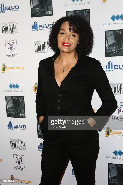 Ariana Williams at Brett Hunt aka BRet's record release party for his new rap album 'Falsely Accused Chapter One' on February 7 2018 in Burbank...