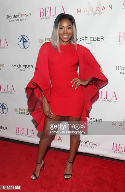 Ariane Andrew attends Bella Magazine NYFW Kickoff Party at The Attic Rooftop Lounge on September 6 2017 in New York City