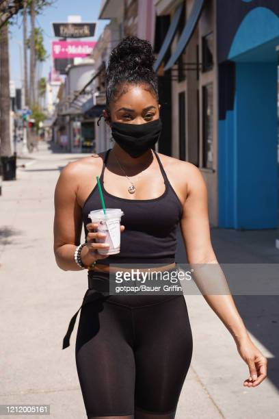 Ariane Andrew is seen on May 06 2020 in Los Angeles California
