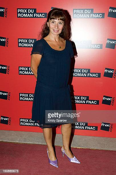 Ariane Ascaride attends the Prix Du Roman Fnac 2012 at Theatre Marigny on August 28 2012 in Paris France