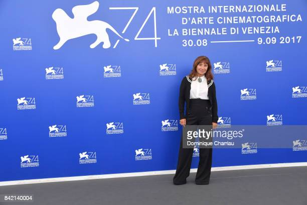 Ariane Ascaride attends the 'The House By The Sea ' photocall during the 74th Venice Film Festival at Sala Casino on September 3 2017 in Venice Italy