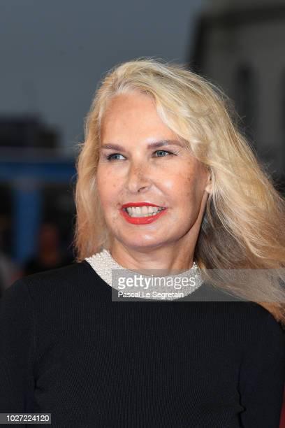 Ariane Bois Heilbronn attends the award ceremony for writer John Grisham winner of the Lucien Barriere Literary prize on September 5 2018 in...
