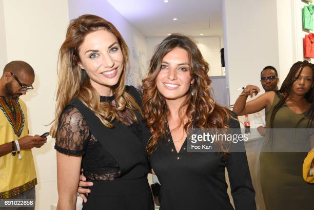 Ariane Brodier and Laetitia Millot attends Le Coq Sportif x Guerlain photocall at the Le Coq Sportif Flagship on May 31 2017 in Paris France