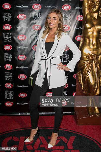Ariane Brodier attends the 'Chantal Thomass Dessous Dessus' show Premiere at Le Crazy Horse on October 5 2016 in Paris France