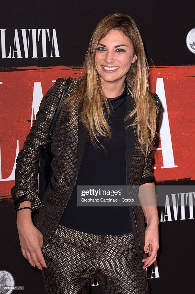 Ariane Brodier attends the 'Malavita' premiere at Europacorp Cinemas at Aeroville Shopping Center, in Roissy-en-France, France.