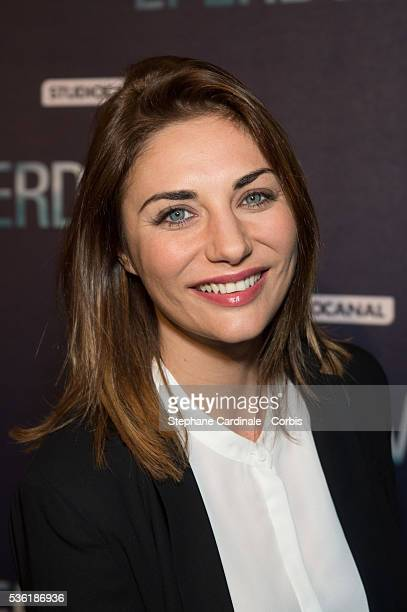Ariane Brodier attends the Premiere of 'Eperdument' at UGCNormandie on February 29 2016 in Paris France