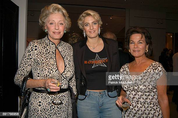 Ariane Dandois Ondine de Rothschild and Eleonore Maerkle attend Cindy Crawford Wendi Murdoch and Lynn de Rothschild and the Officers and Directors of...
