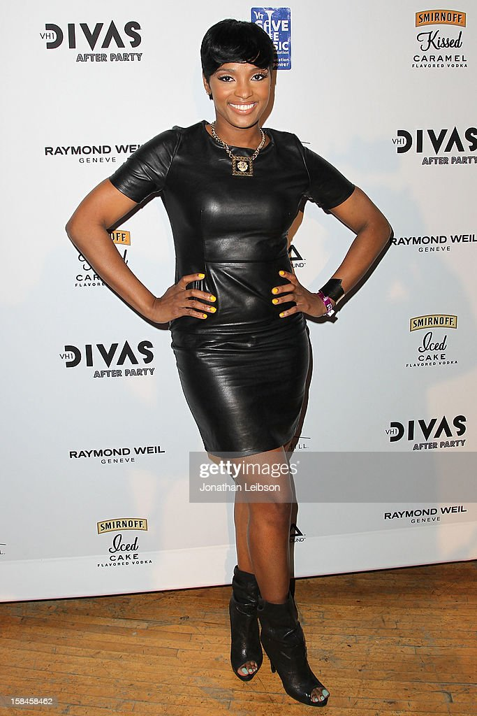 Ariane Davis attends the VH1 Divas After Party To Benefit The VH1 Save The Music Foundation at The Shrine Auditorium on December 16, 2012 in Los Angeles, California.